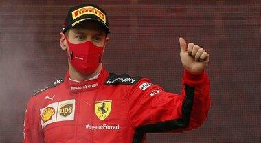 Vettel: «Resistenza aerodinamica punto debole Ferrari. Quest'anno non siamo riusciti a tenere il passo»