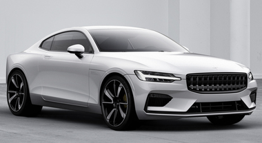 Polestar 1, Volvo svela un mostro d'eleganza con tecnologia al top come una Formula 1