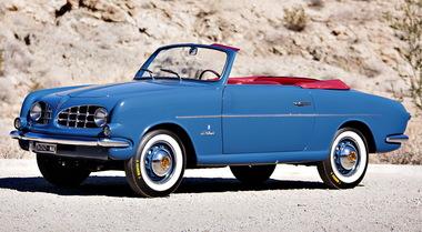 Fiat 1100 carrozzata Allemano e firmata da Michelotti venduta a Monterey per 158 mila euro