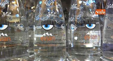 Chiara Ferragni, l'acqua da 8 euro va a ruba alla Rinascente Video