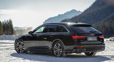 Audi A6 Avant, la nuova regina delle nevi