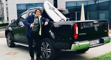 Windsurf, Raimondo Gasperini sale a bordo della nuova Mercedes Classe X
