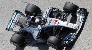 Gp Spagna, Mercedes sempre davanti: seconde libere a Hamilton. 4° tempo per Vettel