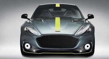 Aston Martin Rapide AMR, una 4 porte quasi da corsa: V12 6 litri aspirato da oltre 600 cv