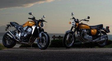 Honda al Wheels & Waves per celebrare i 50 anni di storia delle CB con motore a 4 cilindri in linea