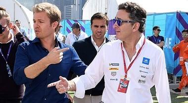 Show di Nico Rosberg all'E-Prix Berlino del 19 maggio con la debuttante Gen2