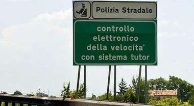 Sicurezza, stop Tutor ma controlli continuano. Autostrade-Polstrada, sarà attivato nuovo sistema