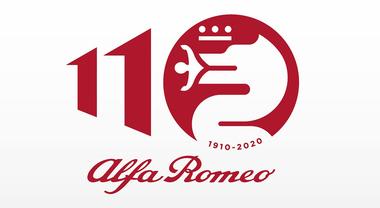 110 Anni Alfa Romeo, modernità e storia nel logo celebrativo. Festeggiamenti ad Arese, 1000 Miglia e Festival di Goodwood