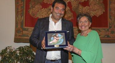 """A Max Giusti il premio Sgarlata per per la sua attenzione verso chi è in difficoltà: """"Per me è un onore"""""""