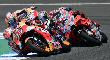 MotoGP, le più emozianti immagini del GP di Spagna
