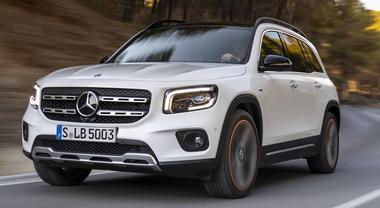 """Ecco GLB, un altro Suv """"stellato"""". Mercedes lancia inedito modello della famiglia sport utility"""