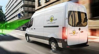 Euro NCAP, 19 furgoni testati nei crash test, è prima volta. Nessuno ottiene valutazione Platino, 5 i modelli sconsigliati