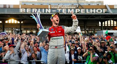 Formula E, lo spettacolo dell'E-Prix di Berlino