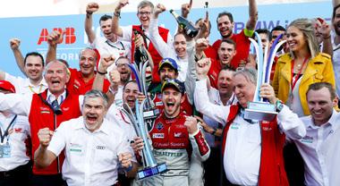 Audi profeta in patria, una doppietta a Berlino: Abt precede Di Grassi. Vergne sul podio