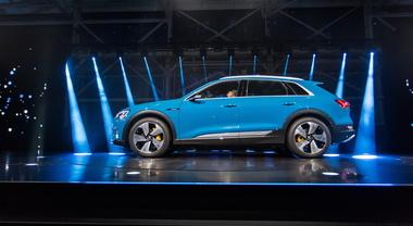 Audi e-tron, la spettacolare world premiere a San Francisco (1)