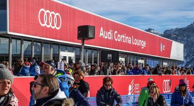 """Audi perfetta """"compagna di viaggio"""" di Cortina e Dolomiti Superski. Prosegue sostegno a mobilità sostenibile"""