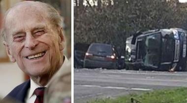 I rottami dell'auto del Principe Filippo in vendita su eBay: migliaia di pound per tre pezzi di plastica