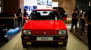 Seat protagonista a Padova con l'Ibiza entrata nella storia e i concept elettrici che guardano al futuro