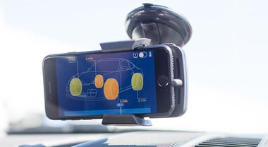 Michelin Track Connect, in pista tutte le informazioni dello pneumatico sono sul smartphone