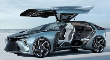 Lexus LF-30, i primi 30 anni del brand premium di Toyota immaginando l'elettrica a guida autonoma per il 2030