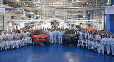 Fca, a Melfi via alla produzione della Jeep Compass per il mercato europeo