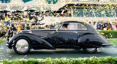 Alfa trionfa nel Concorso d'eleganza a Pebble Beach. La 8C 2900B Touring del 1937 è Best of Show