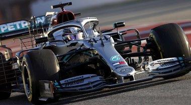 Mercedes domina il terzo e ultimo giorno di test, la Ferrari preoccupa Binotto