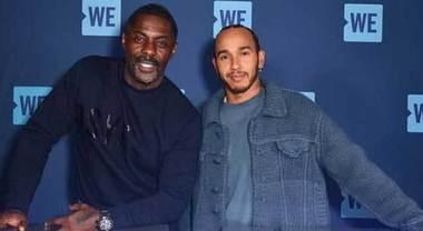 Hamilton in autoisolamento dopo incontro con l'attore Idris Elba, positivo al Coronavirus