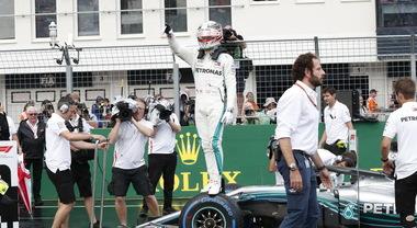 F1, la vittoria di Hamilton nel GP d'Ungheria