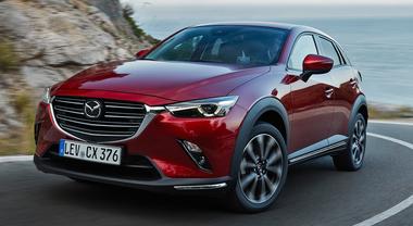 Mazda CX-3, restyling leggero nel look per non stravolgere un design di successo