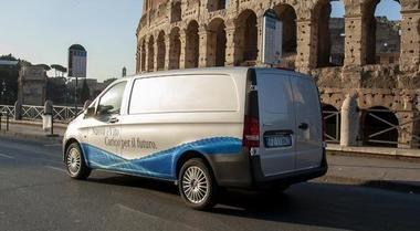 eVito, il van elettrico di Mercedes con 150 km di autonomia. Ideale per la città, si ricarica in 6 ore