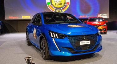Car of The Year 2020, la vittoria della Peugeot 208