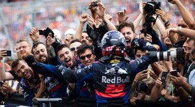 F1 2019 - Due podi esaltano l'incredibile stagione della Toro Rosso