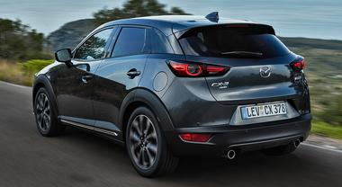 Nuova CX-3, il restyling del Suv Mazda porta in dote equipaggiamenti più completi e tanta tecnologia