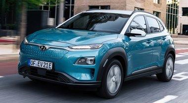Kona elettrica, anche Hyundai ha il suo sport utility a zero emissioni