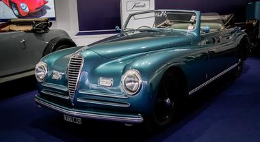 130.000 visitatori per Auto e Moto d'epoca a Padova. L'Alfa 6C 2500 Sport del 1947 regina dell'asta Finarte