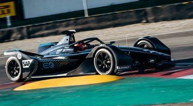Mercedes, prosegue la marcia di avvicinamento: due giorni di test a Varano per la EQ Silver Arrow 01