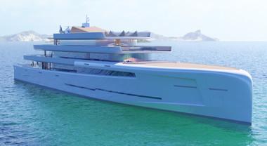 Fincantieri, la fantasia al potere con il Mirage: uno strabiliante giga yacht di 106 metri
