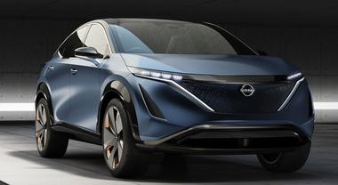 Nissan Ariya, concept che anticipa il primo crossover elettrico del marchio giapponese