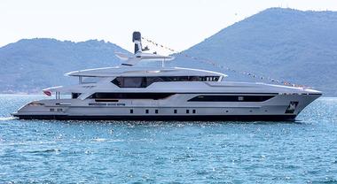 Baglietto: acciaio, alluminio, lusso e comfort al top. Ecco la formula per il super yacht 48M T-Line