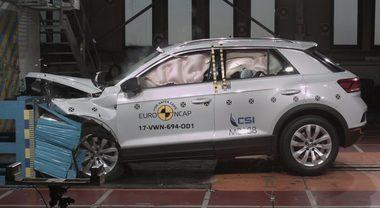 Crash test, 8 modelli promossi con 5 stelle EuroNCAP: T-Roc, C3 Aircross, Eclipse Cross, Crossland X, Arona, Karoq, Polo e XC60