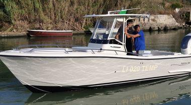Tuccoli in campo con il nuovo fisherman T 250 VM: «Sfidiamo gli americani con due versioni all'avanguardia»