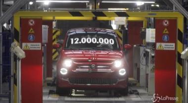 Fca, in Polonia costruita la 12milionesima vettura: è una 500 rossa