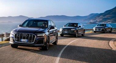 Audi Q5, Q7 e SQ8: i SUV ibridi dei Quattro Anelli efficienti e performanti