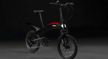 Ducati e Italdesign lanciano Urban-E. La bike pieghevole a pedalata assistita con 70 km di autonomia