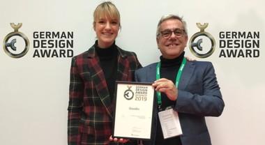 """Qooder premiato in Germania. Il veicolo a 4 ruote di Quadro ha vinto l'""""Excellent Product Design"""""""