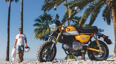 Nuovo Monkey, Honda rilancia la mini-bike: look classico con le tecnologie più moderne