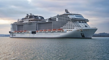Msc Bellissima, il varo della nuova ammiraglia di Msc Crociere