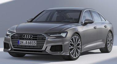 Nuova Audi A6, per eleganza, equipaggiamenti e contenuti si avvicina all'ammiraglia A8