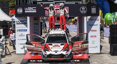 Toyota Yaris di Tanak cala il tris. L'estone vince in Turchia un rally ad eliminazione e supera Ogier nella generale